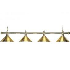 Lamp Elegance, brass, 4 Bells